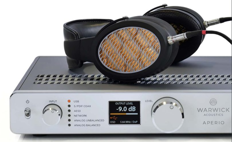 tu prends l 39 aperio electrostatique haut de gamme warwick audio du village