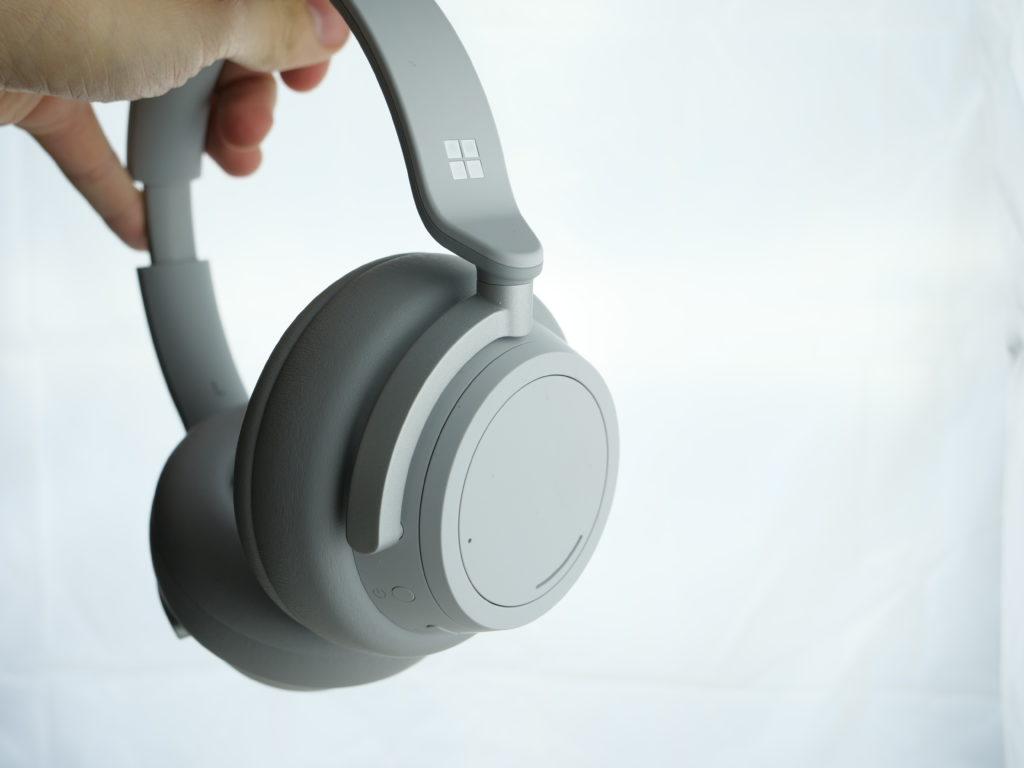 Surface headphones porté par l'arceau