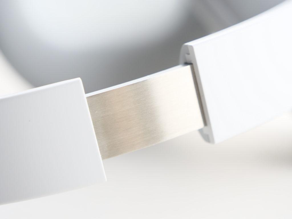 Surface headphones zoom sur le réglage d'arceau
